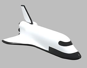3D model Space Rocket 9 Shuttle