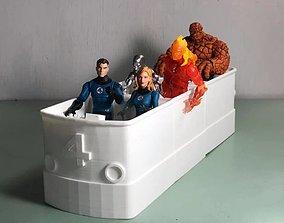 Marvel Legends Fantasticar 3D printable model