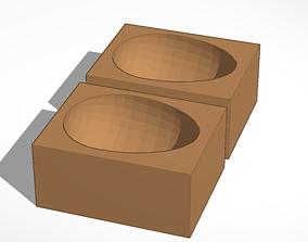 easter egg molds 3D printable model