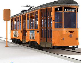 3D model tramway 01