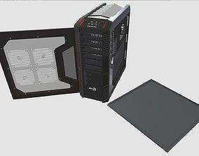 AeroCool XPredator Black 3D asset