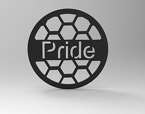 Protective mesh for speaker 3D print model