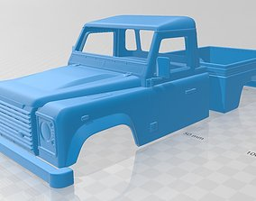 Land Rover Defender 110 PickUp 2011 Printable Body