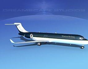 Comac ARJ21-700 Venture Air 3D model