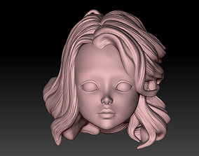head doll1 3D printable model