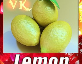 3D model Lemon High Detail