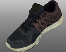 feet Sneaker 3D model low poly game-ready