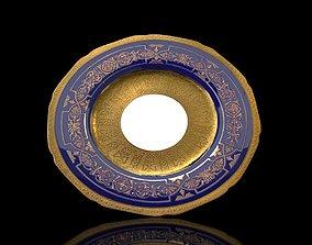 China Royal Chelsea Porcelain Dinner 3D asset