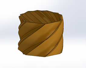 3D print model Geometric Planter 3
