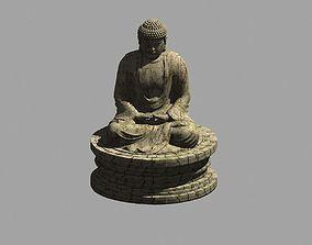 dame 3D model Buddha