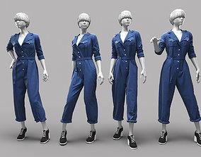 3D Woman Mannequin 15