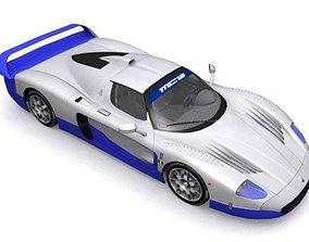 Maserati MC-12 3D asset