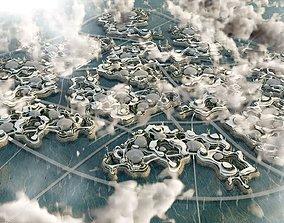 Metropolis Bionic Eco energy 3D model animated
