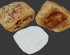 Pastry 01 - Low Poly - Photogrammetry 3D asset