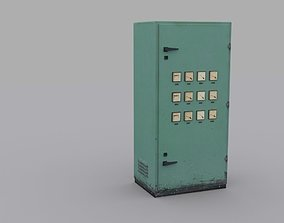 3D asset realtime Electrical Panel