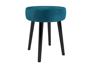 3D model Stool Leonie maisons du monde