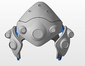 Widowmaker cosplay props Helmet Arm Shoulder Armor 3D