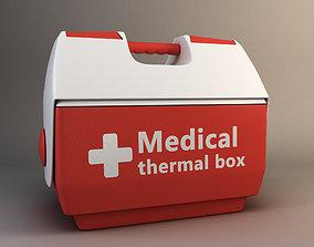 medical thermobox 3D asset