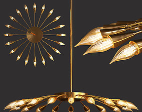 Sputnik Chandelier 3D