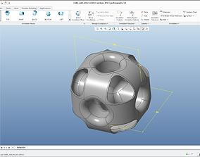 3D print model Cube and holes