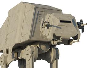 AT-AT Walker 3D model rigged