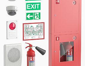 3D Fire-fighting equipment