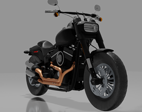 Harley-Davidson Fatbob 2020 3D