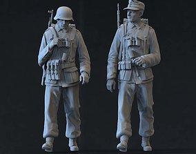 German soldiers 3D printable model war