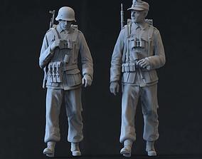 3D print model figurines German soldiers