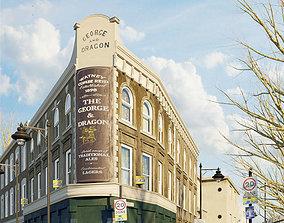Corona for C4D Scene files - Old London Pub Scene 3D