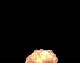Nuclear Explosion PhoenixFD 3D model