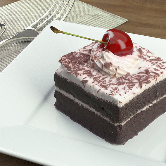 Cake Chocolate Cherry