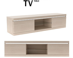 TV TABLE MANCHESTER 3D asset game-ready