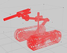 Robot bomb 3D