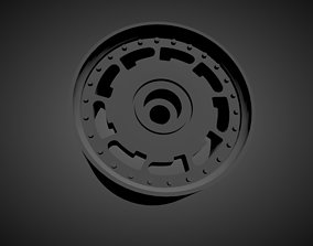 3D printable model Pirelli P-slot rims with brakes and 3