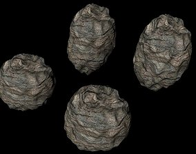 3D Asteroids earth