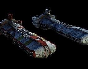 3D Pelta-class frigate