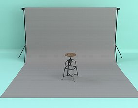 3D model Photo Studio Backdrop