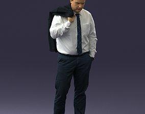 man with jacket 0928 3d print ready