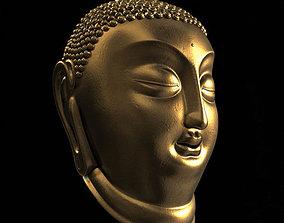 3D model Buddha Face