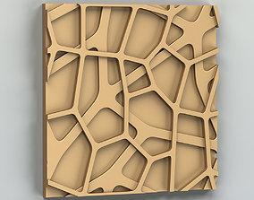 3D model Wall panel 023