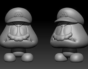 Goomba Mario 3D printable model