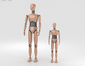 3D model Crash Test Dummy