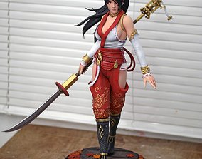 Momiji Dead or Alive Fan Art Statue 3d
