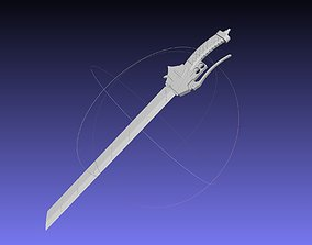cosplay Attack On Titan Sword Basic Printable Replica