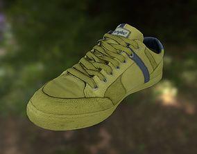 low-poly Sneaker shoe 3D model low poly