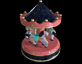 Carousel Toy 3D