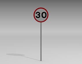 3D 30 Speed limit