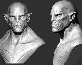 Azog Bust 3D print model