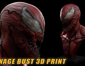 Carnage bust carnage 3D print model